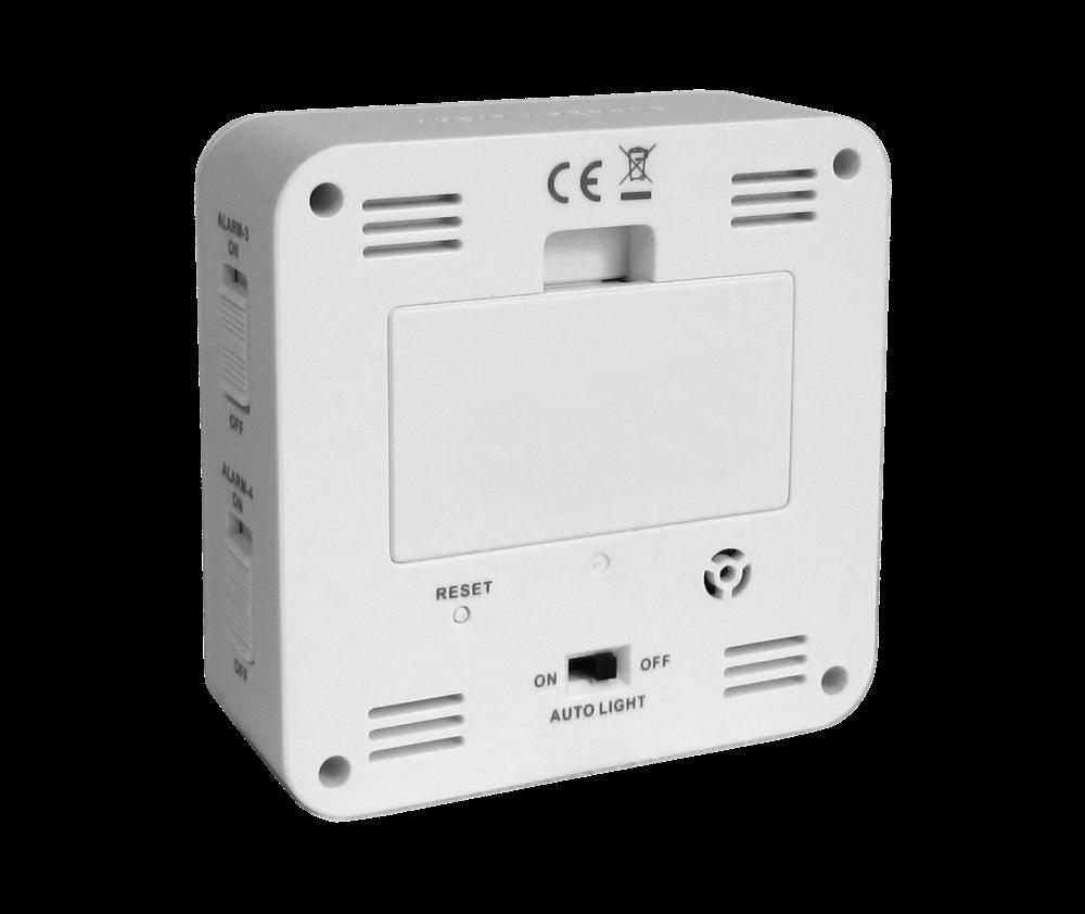Digitální budík řízený rádiovým signálem LAVVU White Cube