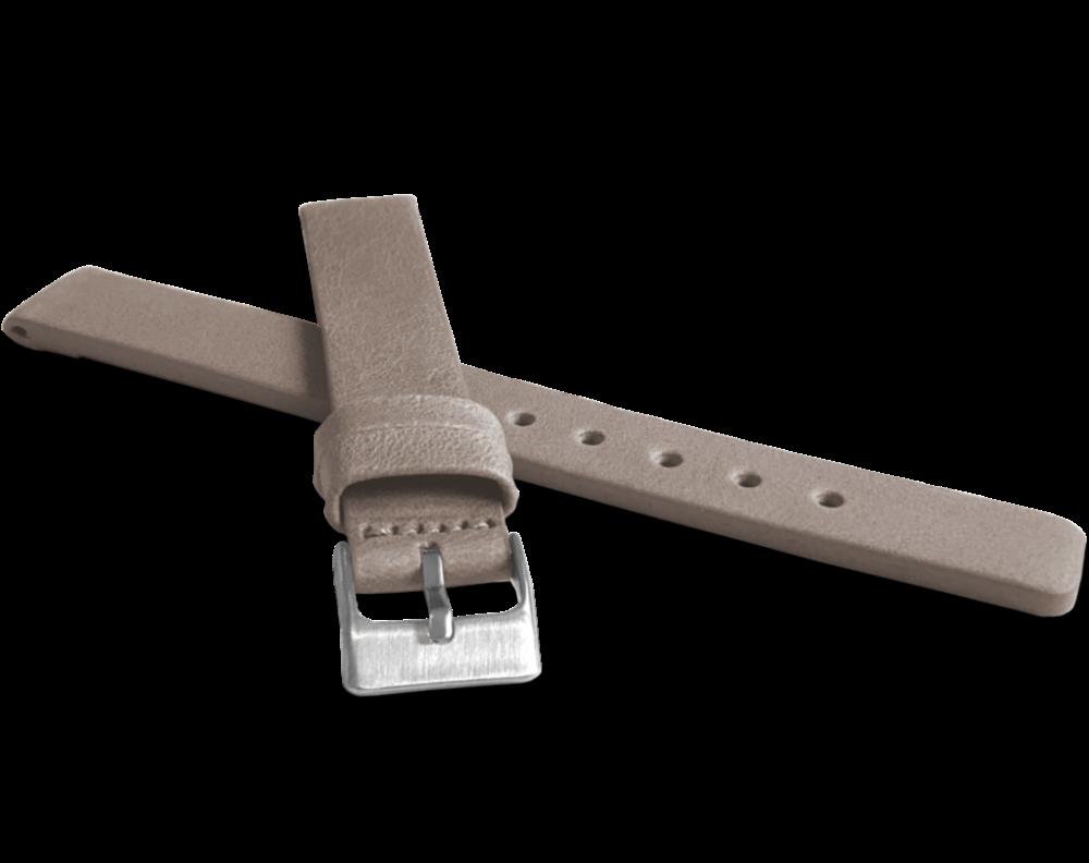 Béžový hladký řemínek LAVVU PLAIN z luxusní kůže Top Grain - 16