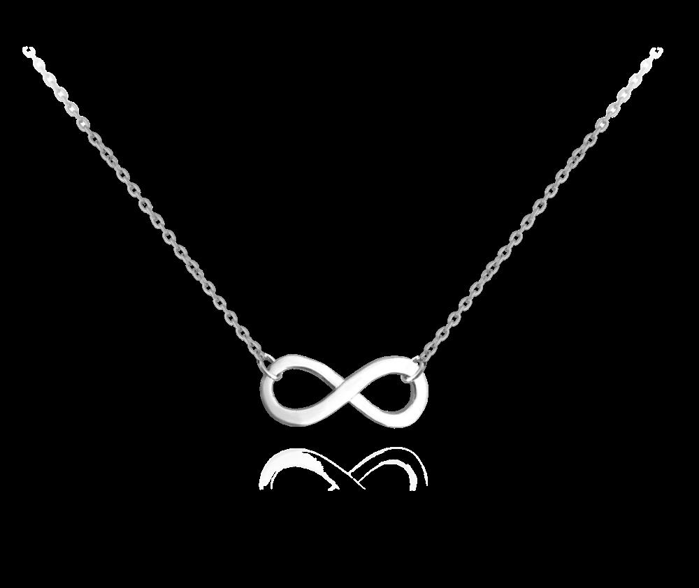 Stříbrný náhrdelník MINET FOREVER