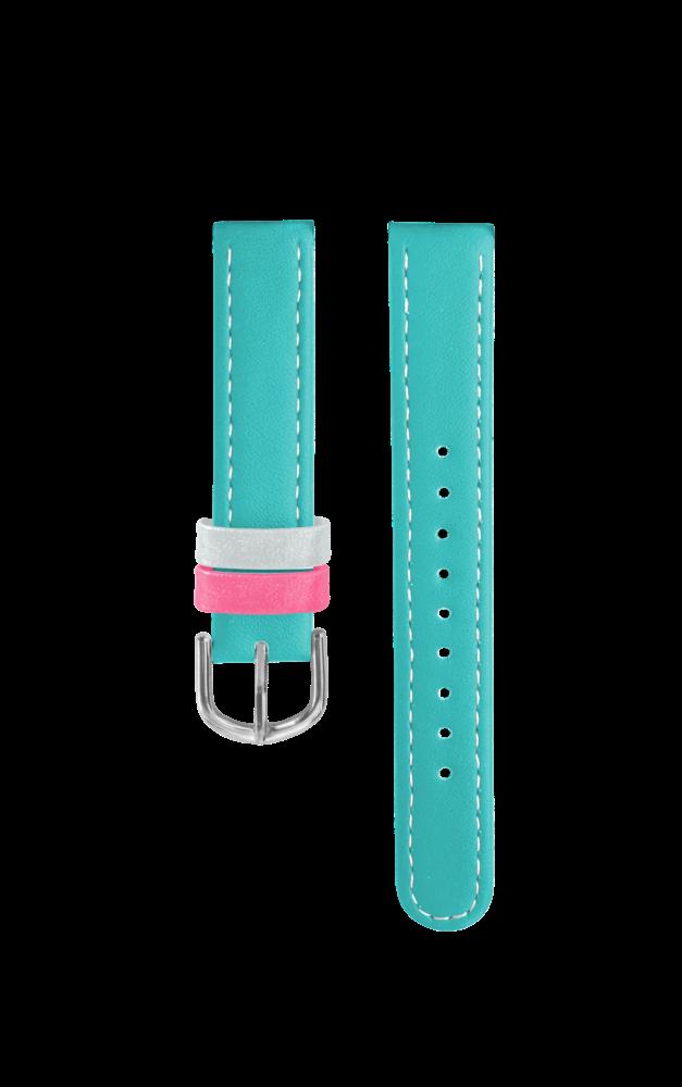 Tyrkysový řemínek k dětským hodinkám CLOCKODILE