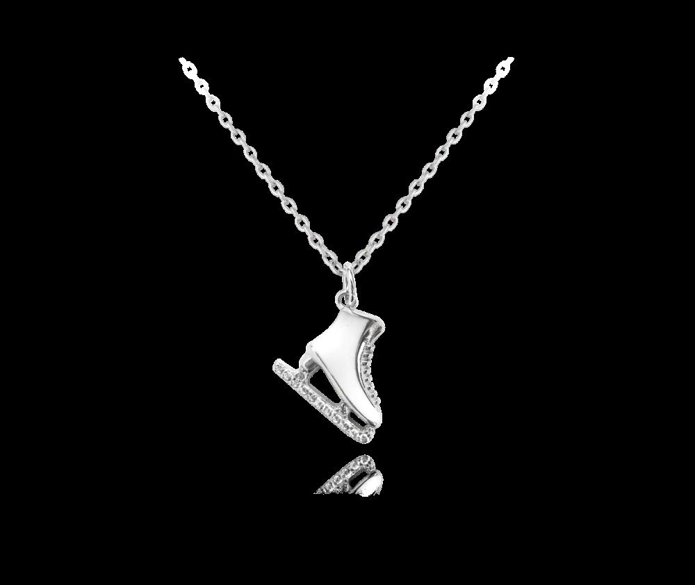 Stříbrný náhrdelník MINET BRUSLIČKA