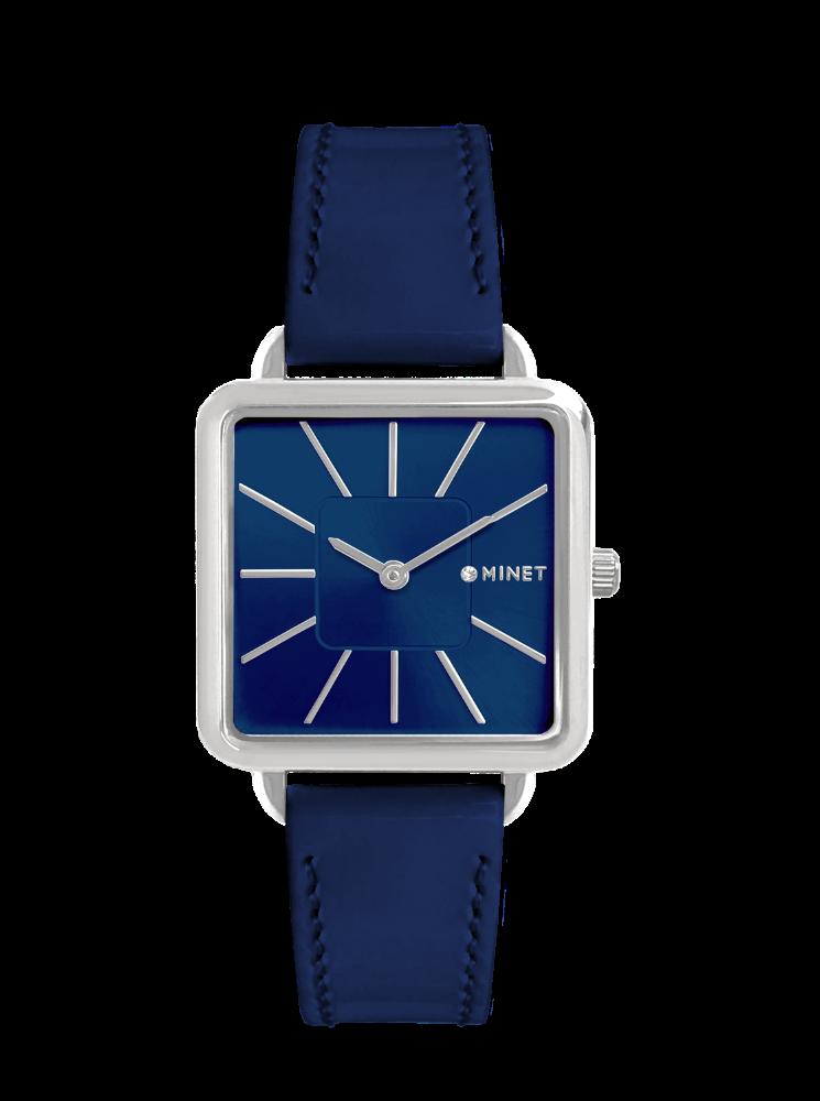 Modré dámské hodinky MINET OXFORD MARINE BLUE