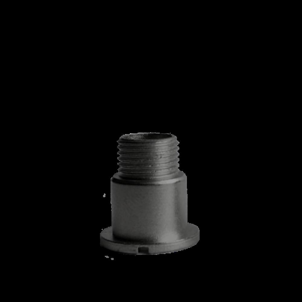 Černý fixační šroub hodinového strojku UTS 13 mm