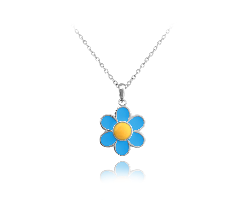 Stříbrný náhrdelník MINET KOPRETINA