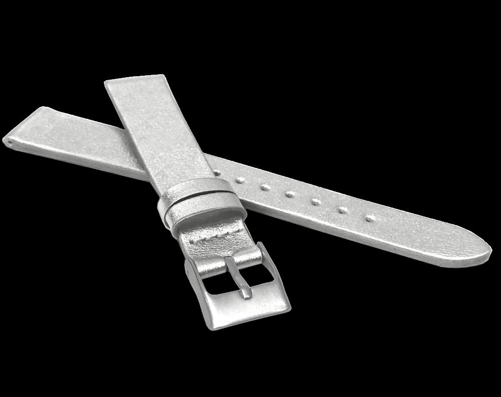 MINET Stříbrný řemínek MINET z luxusní kůže Top Grain - 14 MSSUZ14