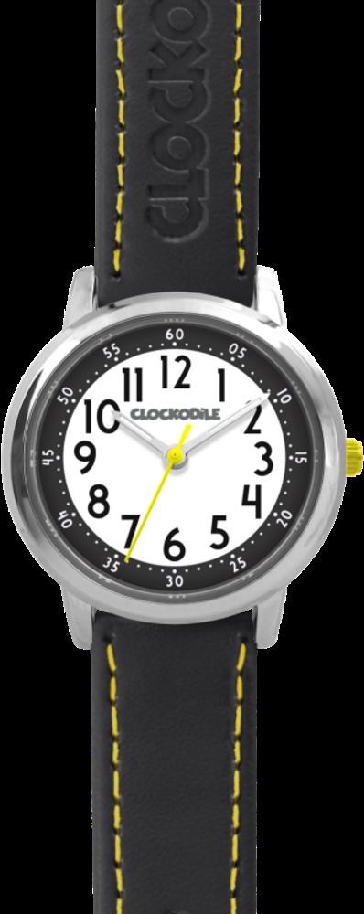 Černé chlapecké hodinky CLOCKODILE COLOUR