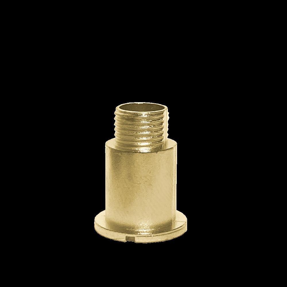 Mosazný fixační šroub hodinového strojku UTS 16 mm