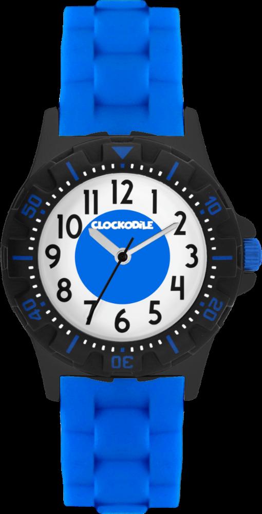 CLOCKODILE Svítící modré sportovní chlapecké dětské hodinky CLOCKODILE SPORT 3.0 CWB0041
