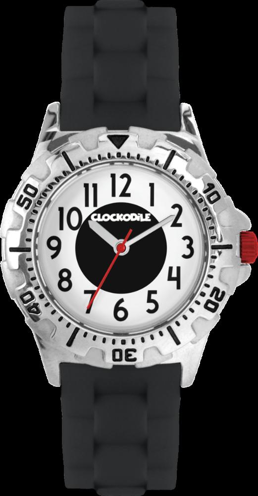 CLOCKODILE Svítící černé sportovní chlapecké dětské hodinky CLOCKODILE SPORT 3.0 CWB0042
