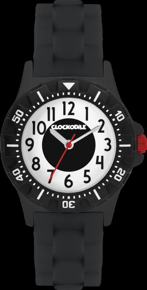 CLOCKODILE Svítící černé sportovní chlapecké dětské hodinky CLOCKODILE SPORT 3.0 CWB0045