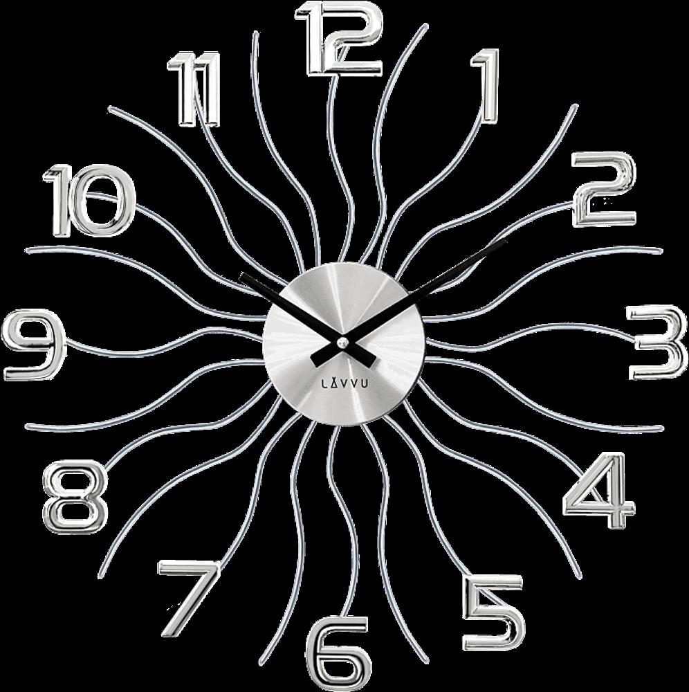LAVVU Stříbrné hodiny LAVVU SUN LCT1220