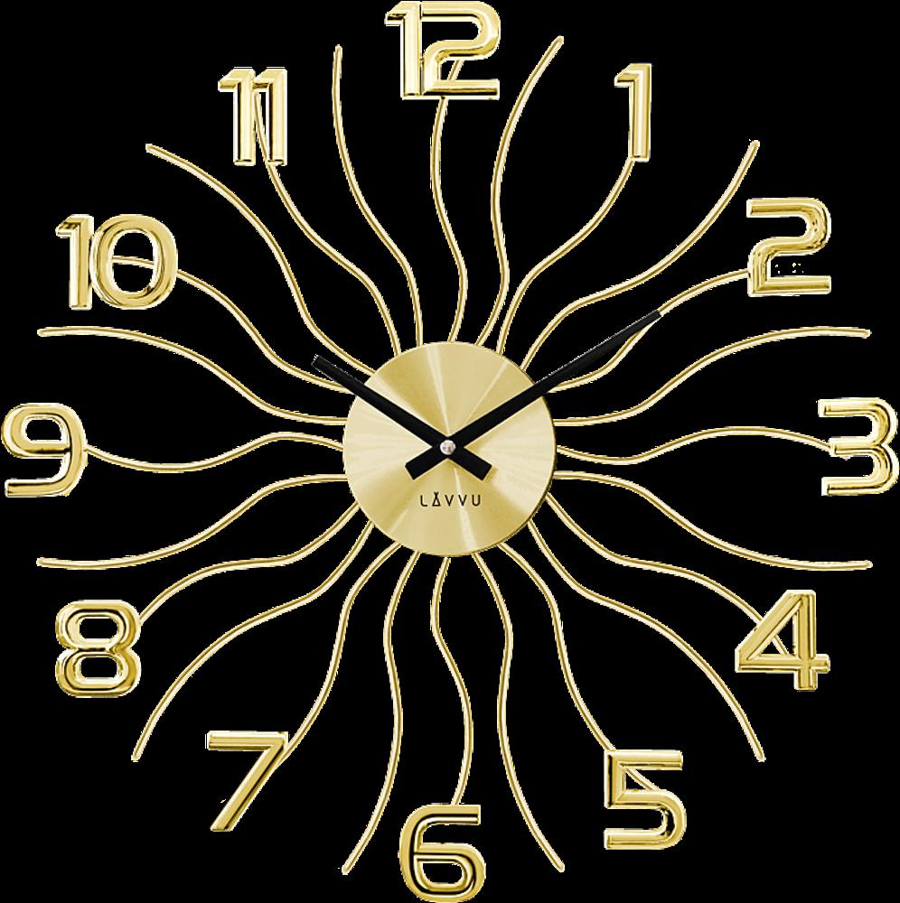 LAVVU Zlaté hodiny LAVVU SUN LCT1221