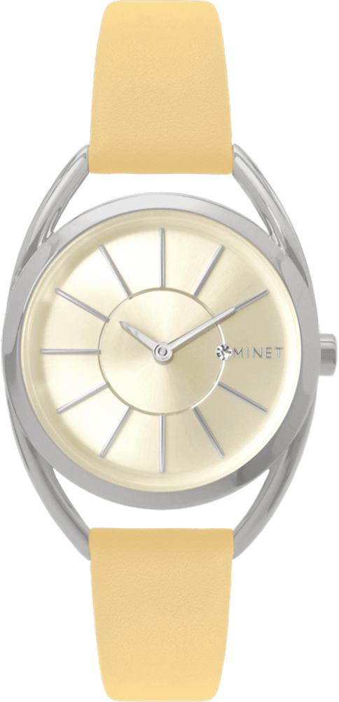 Meruňkové dámské hodinky MINET ICON APRICOT GLOW