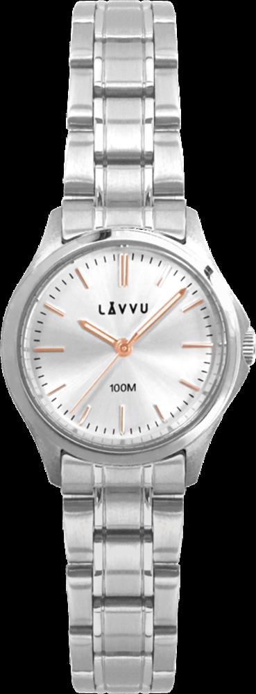 Dámské hodinky LAVVU ARENDAL Rose Gold s vodotěsností 100M