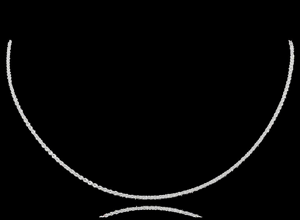 JVD STŘÍBRNÝ ŘETÍZEK 45 cm bez prodlužovacích oček JMAC0001SC45