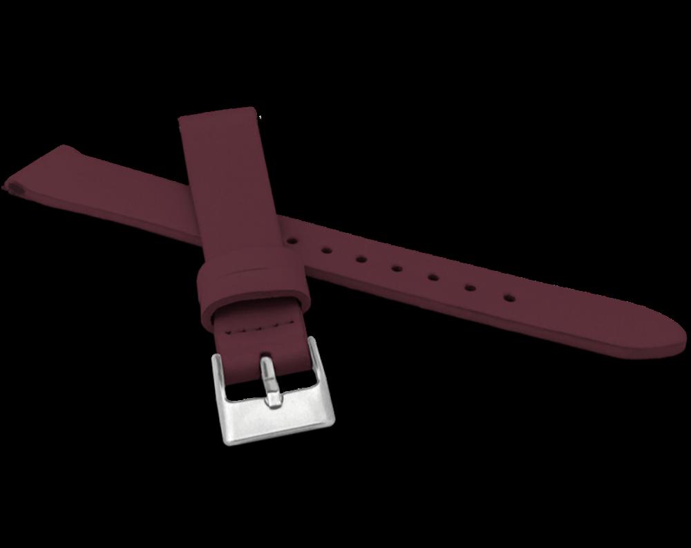 MINET Vínový řemínek MINET z luxusní kůže Top Grain - 16 MSSUV16
