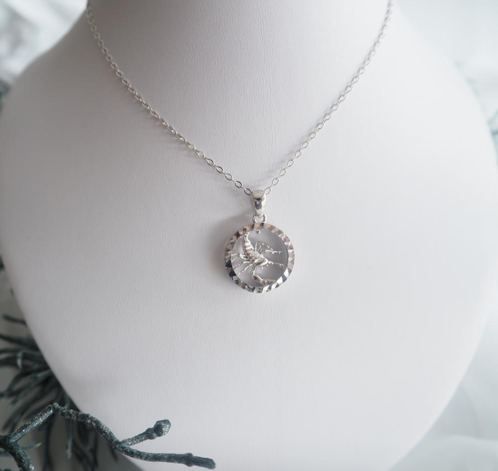 Stříbrný náhrdelník MINET Zodiac znamení ŠTÍR