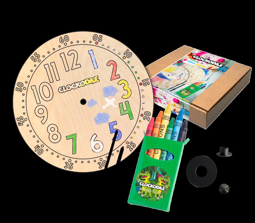 CLOCKODILE Set k výrobě nástěnných hodin CLOCKODILE CREATIVE Original CCT0020