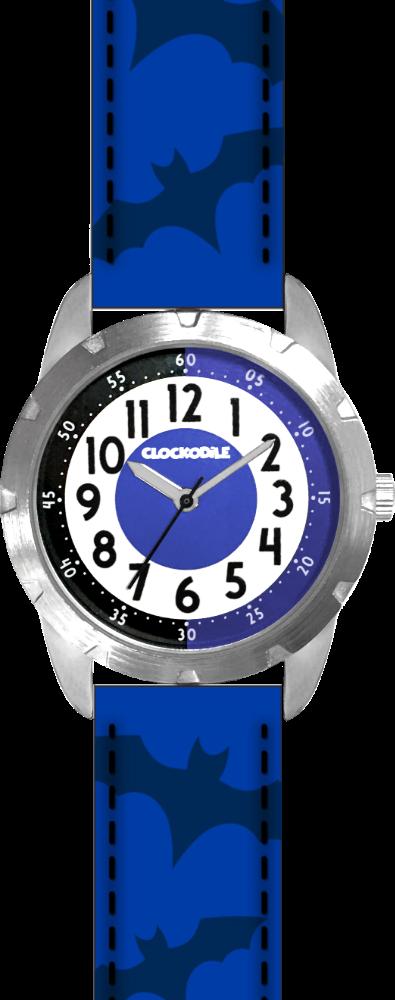 CLOCKODILE Svítící modré chlapecké dětské hodinky CLOCKODILE SUPERHERO CWB0051