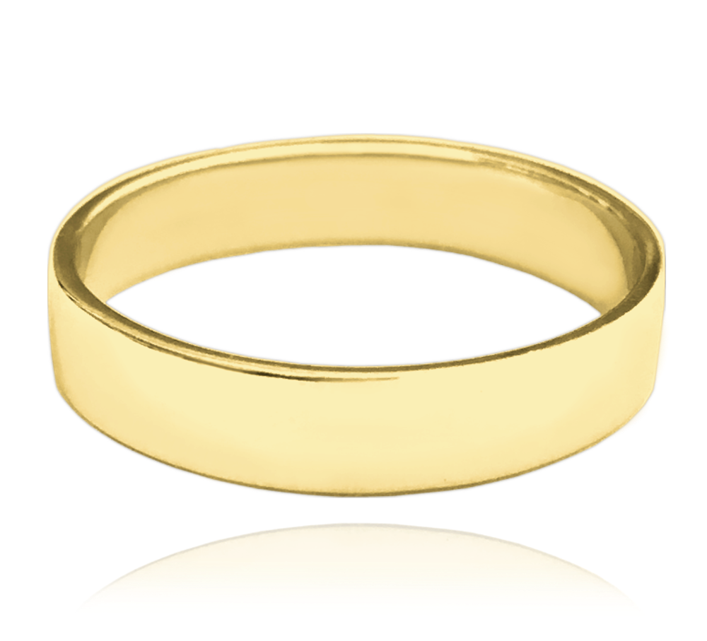 MINET Pozlacený stříbrný snubní prsten MINET vel. 64 JMAN0138GR64