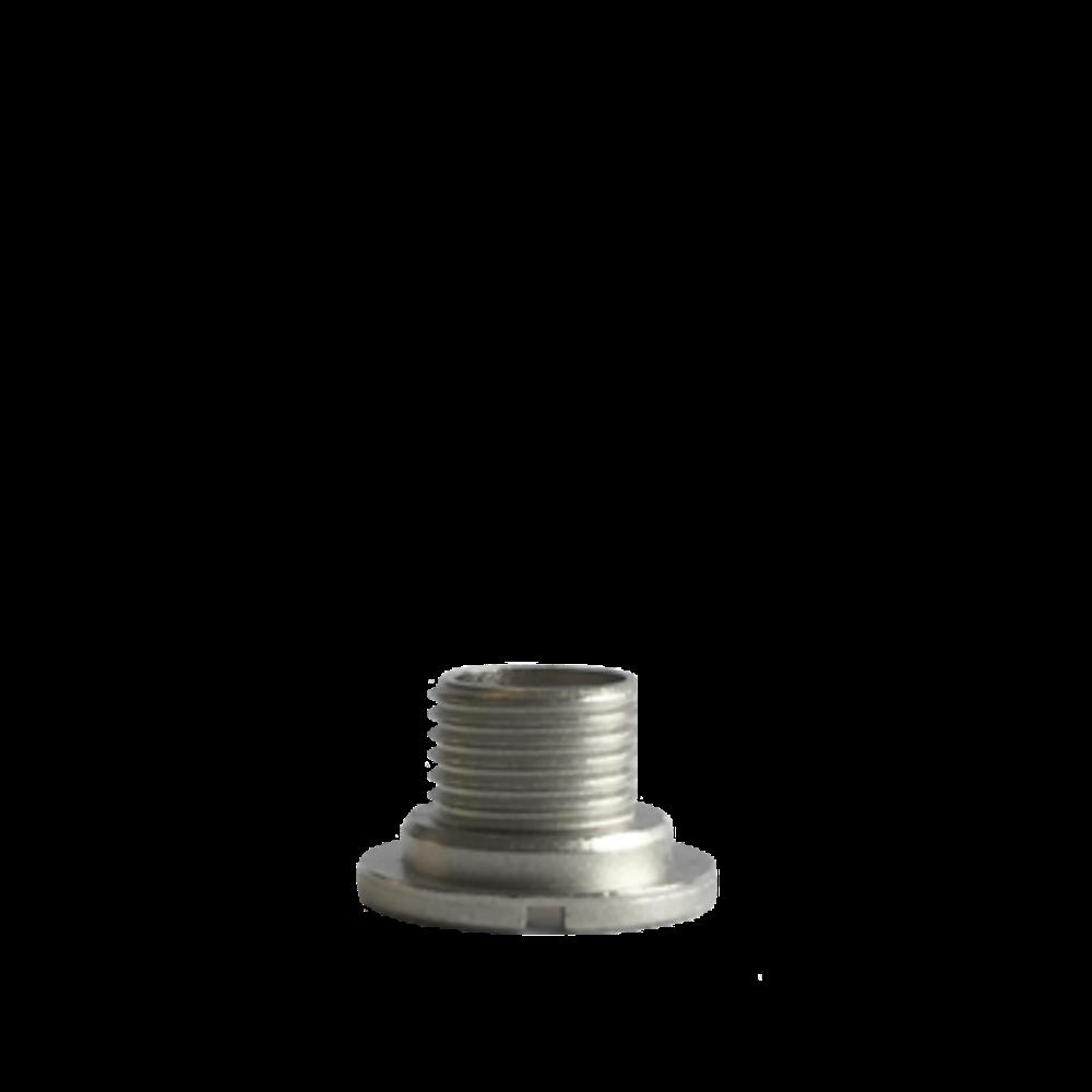 Chromový fixační šroub hodinového strojku UTS 7 mm