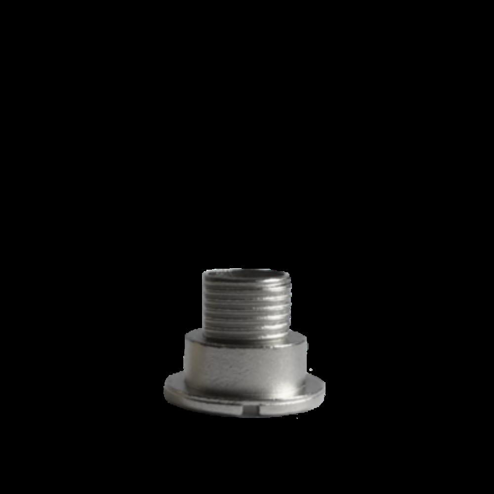 Chromový fixační šroub hodinového strojku UTS 9 mm