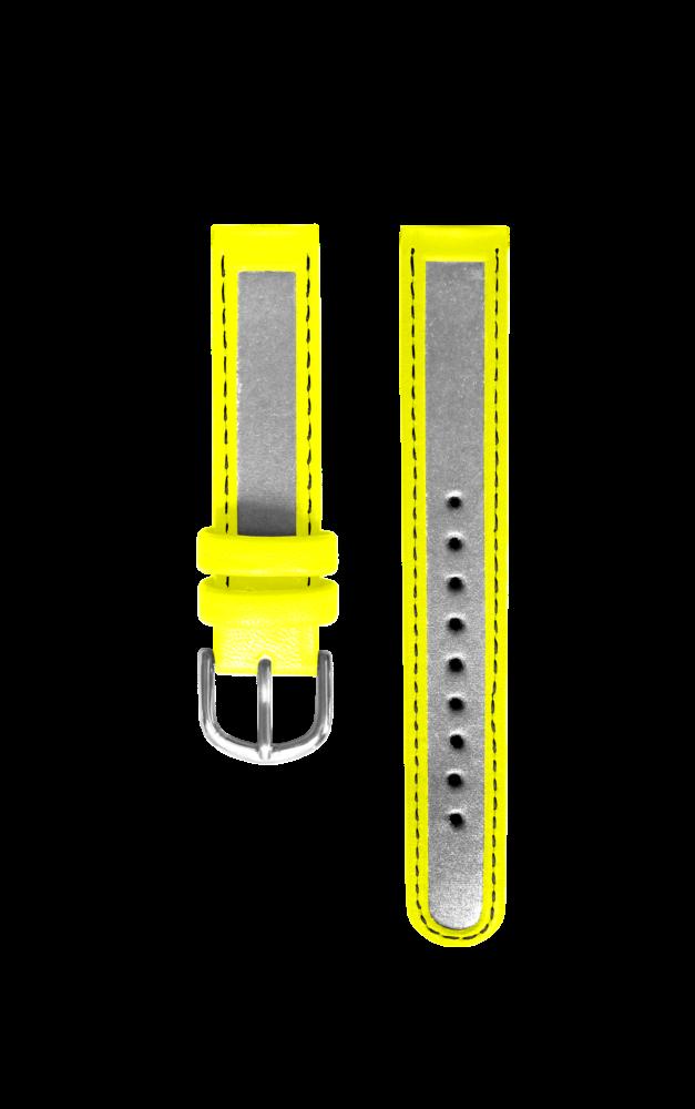 Reflexní žlutý řemínek k hodinkám CLOCKODILE