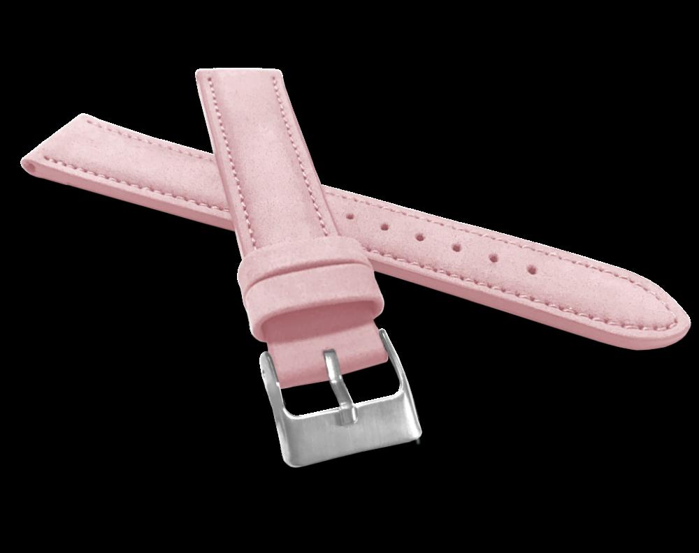 Růžový řemínek MINET BROADWAY Original Pink - 18