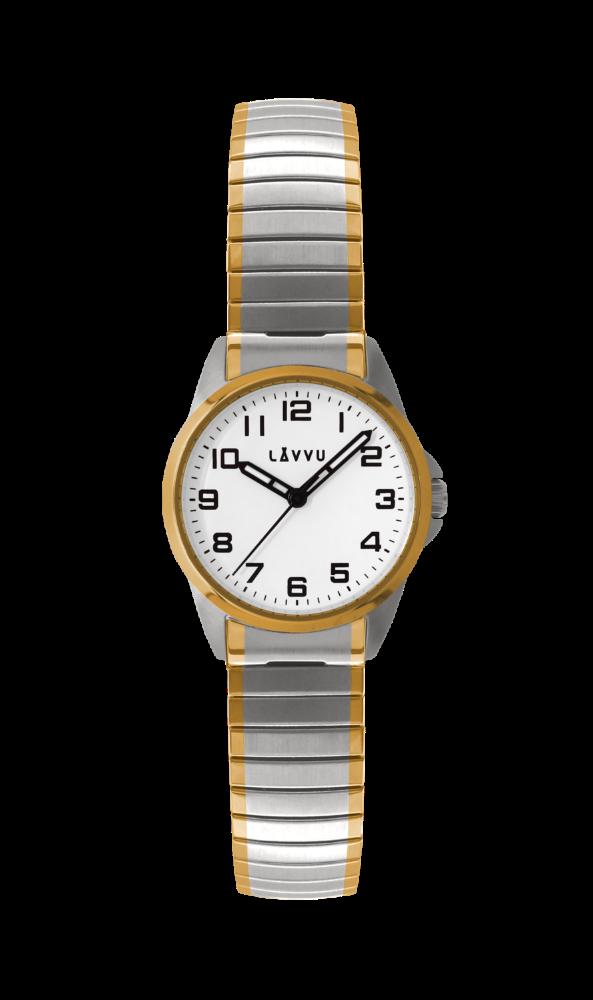 Dámské pružné hodinky LAVVU STOCKHOLM Small Bicolor