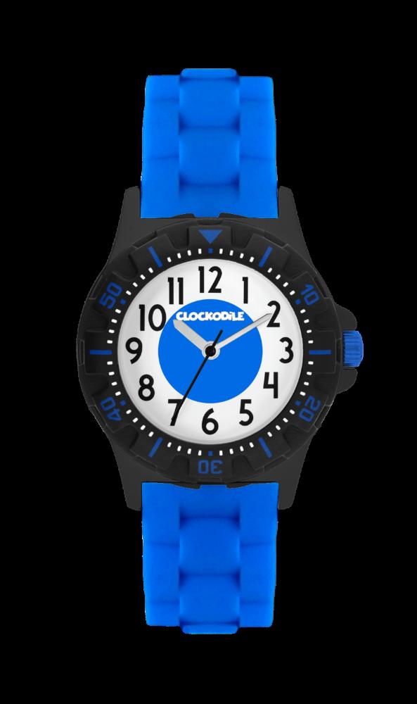 Svítící modré sportovní chlapecké hodinky CLOCKODILE SPORT 3.0