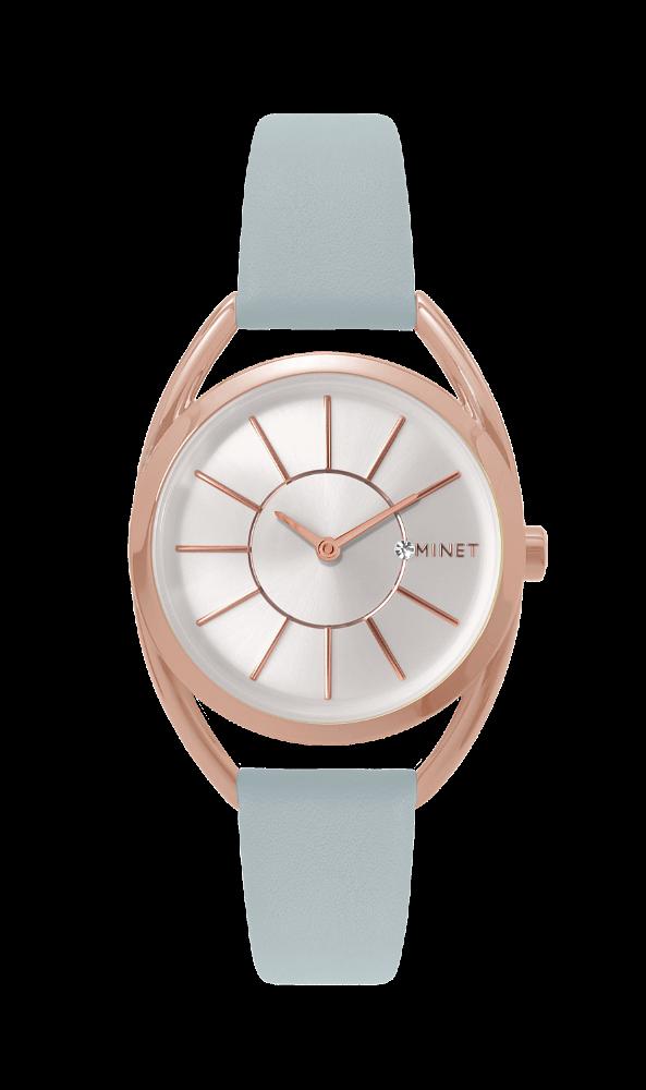 Šedé dámské hodinky MINET ICON MISS GREY