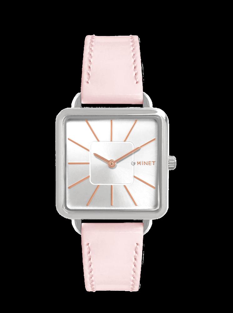 Růžové dámské hodinky MINET OXFORD PINK KISS