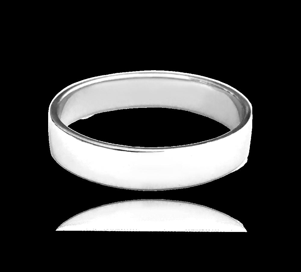 Stříbrný snubní prsten MINET vel. 60