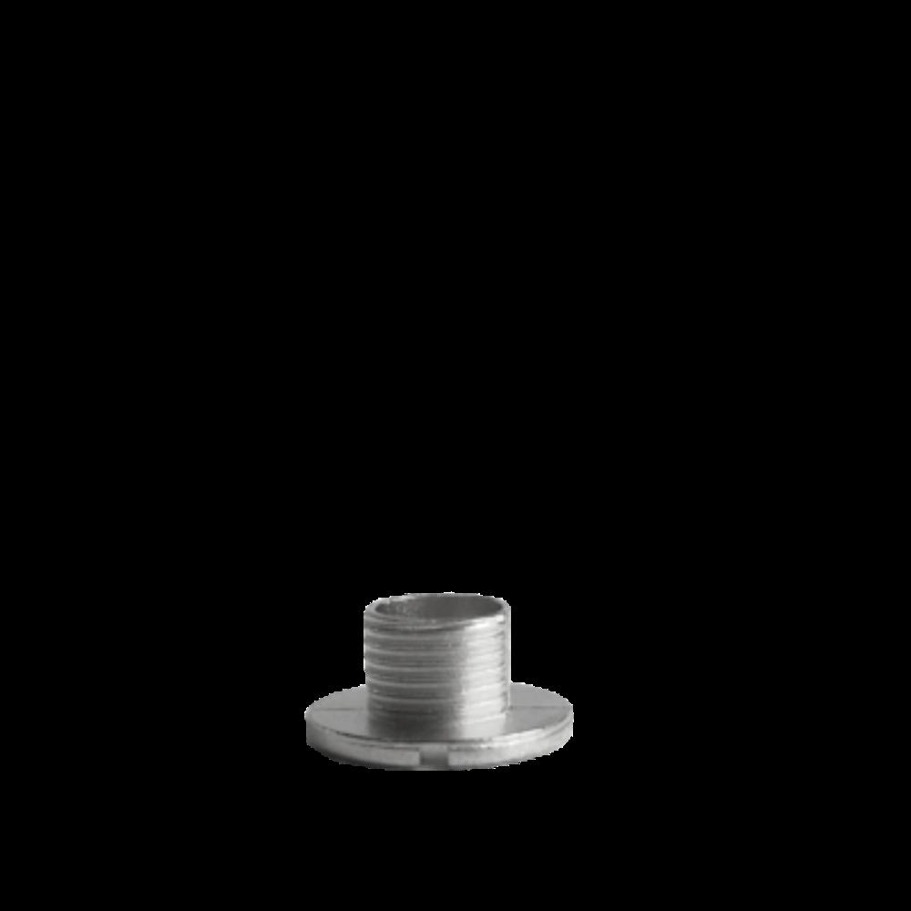 Chromový fixační šroub hodinového strojku UTS 5 mm