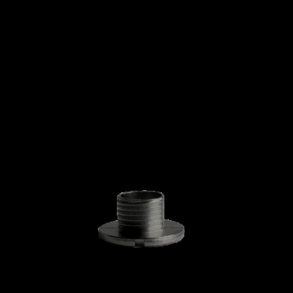 Černý fixační šroub hodinového strojku UTS 5 mm