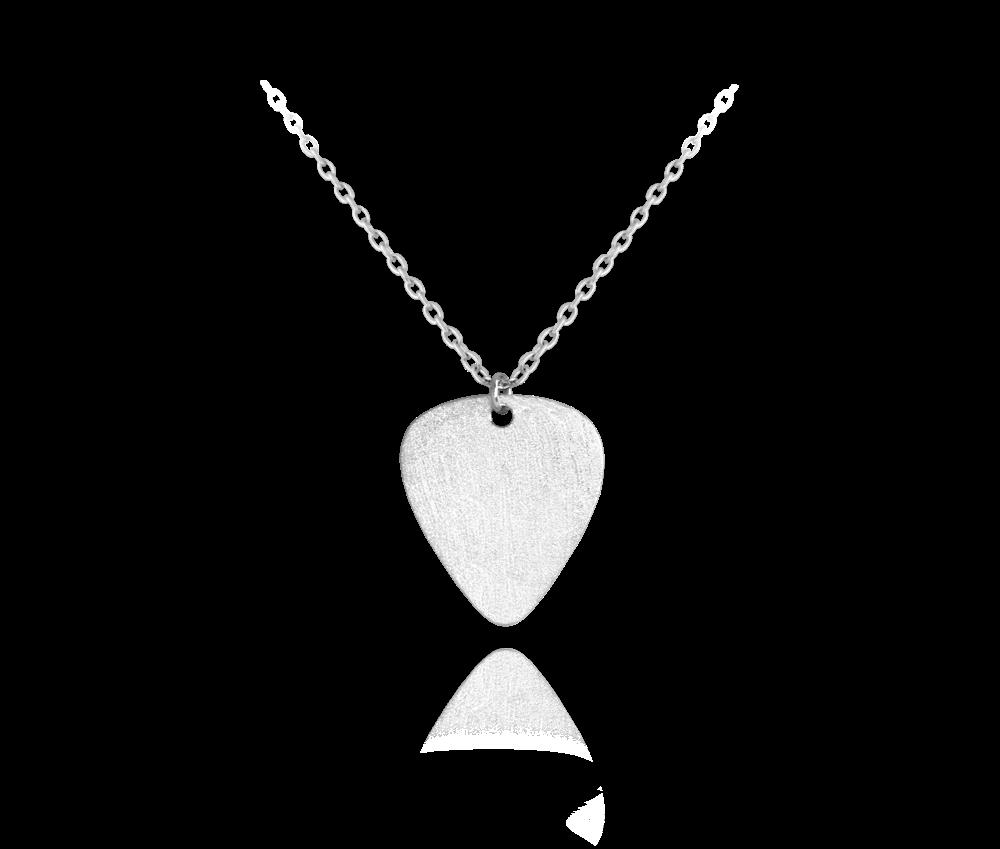 MINET Matný stříbrný náhrdelník MINET TRSÁTKO JMAS8208ZN45
