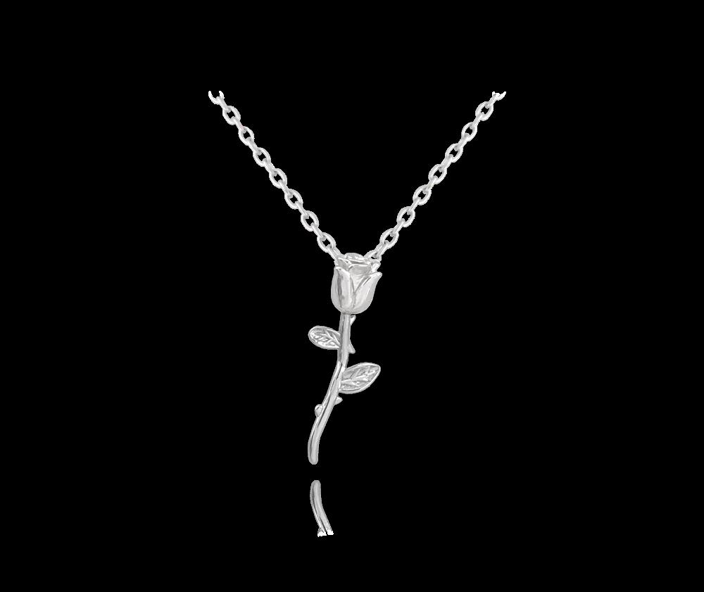 Stříbrný náhrdelník MINET RŮŽE