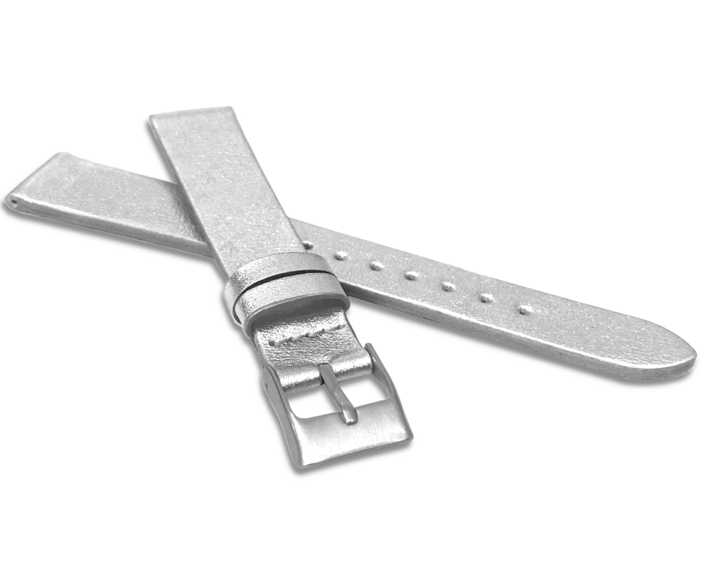 Stříbrný řemínek MINET z luxusní kůže Top Grain - 14