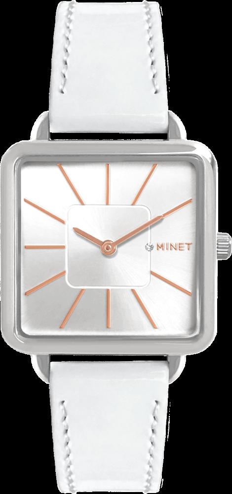 Bílé dámské hodinky MINET OXFORD DREAMY WHITE