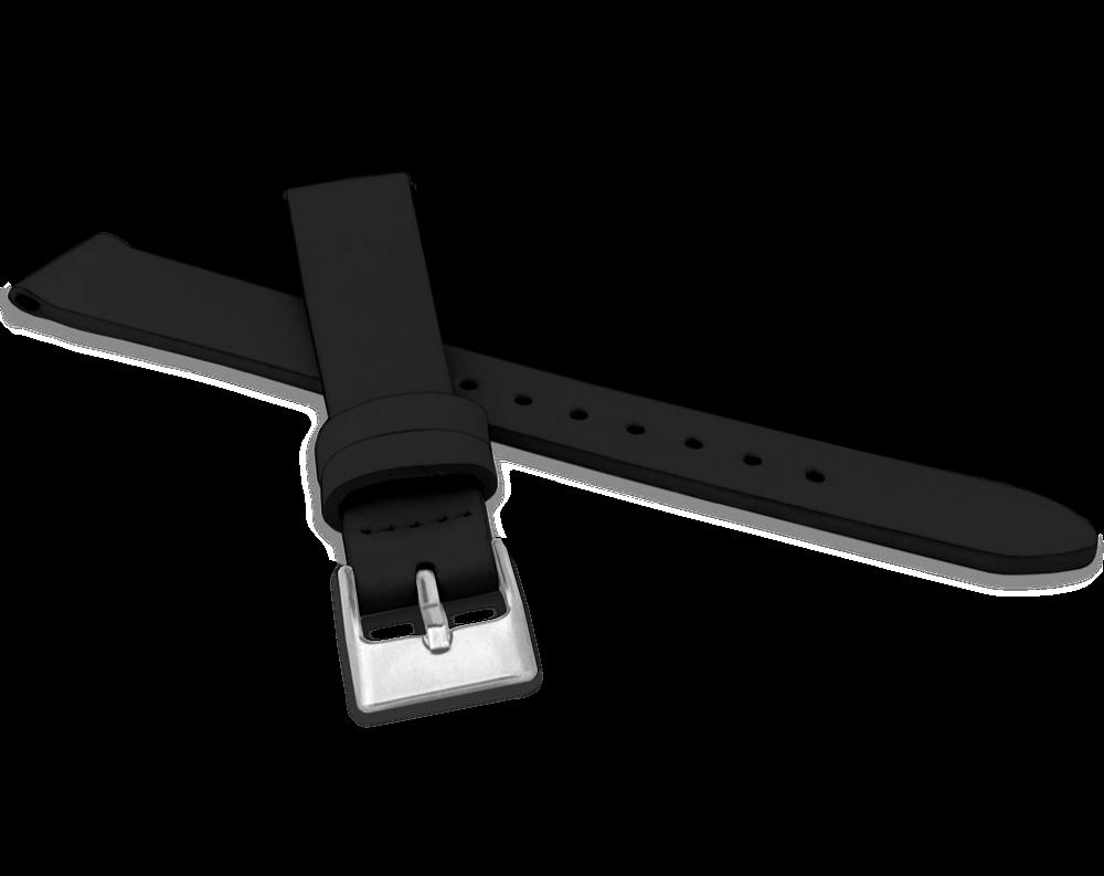 Černý řemínek MINET z luxusní kůže Top Grain - 16