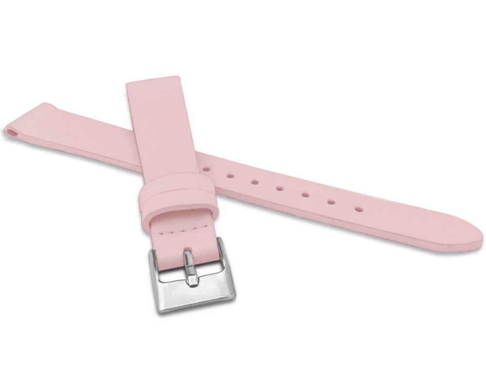 Růžový řemínek MINET z luxusní kůže Top Grain - 12