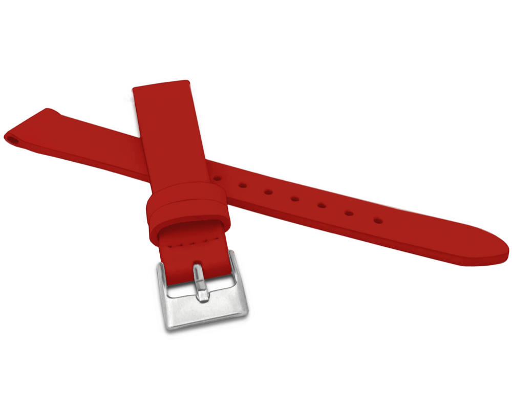 Červený řemínek MINET z luxusní kůže Top Grain - 16