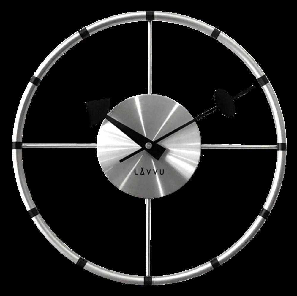 Stříbrné hodiny LAVVU COMPASS